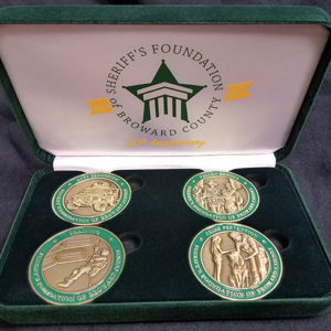 20th Anniversary 4-Coin Collection with Velvet Display Box